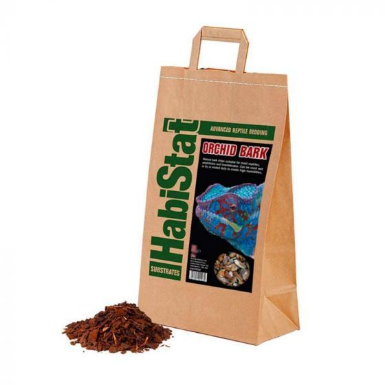 HabiStat Orchid Bark Substrate fin 5L