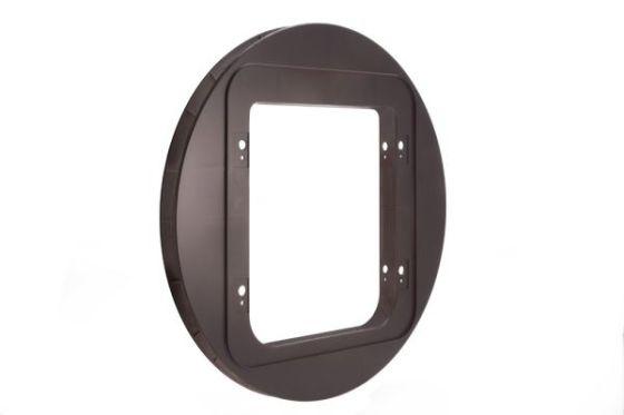 Adapter Sureflap XXL for montering glass/stål,brun