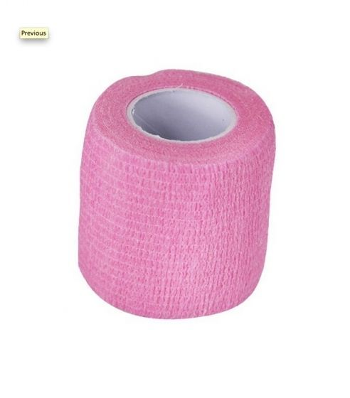 Bandasje til hund selvklebende rosa