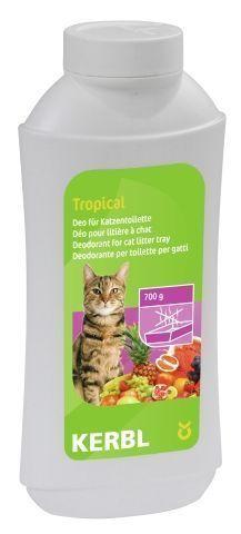 Deodorant konsentrat til kattetoalett Tropical