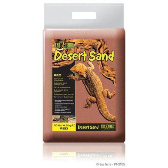 Exo Terra Desert Sand Rød 4,5 Kg