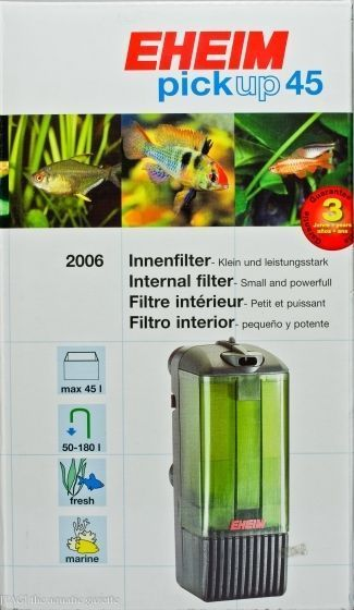 Eheim Pickup 45 (2006) innvendig filter
