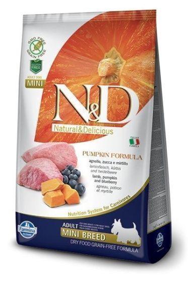 Farmina Dog N&D Pumpkin Lamb & Blueberry Adult Mini 2,5kg