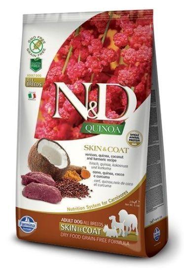 Farmina Dog N&D Quinoa Skin & Coat Venison Adult All Breeds 7kg