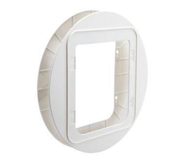 Adapter Sureflap XXL for montering glass/stål,hvit