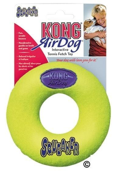 Kong Squeaker Donut Large