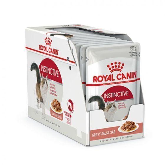 Royal Canin Adult Instinctive Gravy 12 x 85g