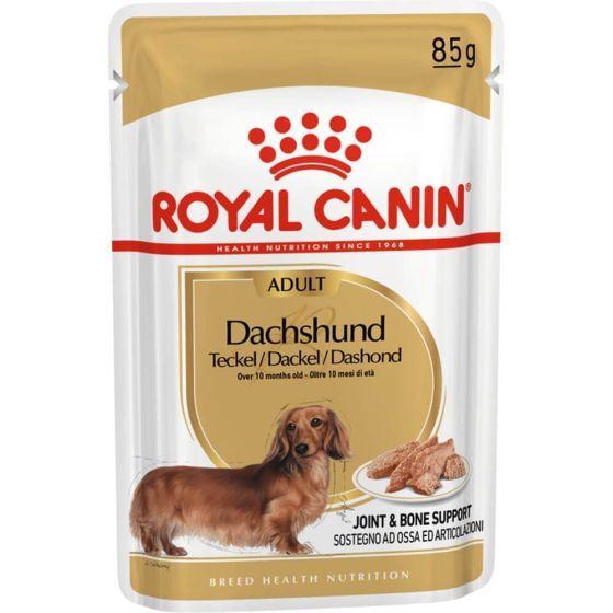 Royal Canin Dachshund Adult Våtfôr 12 x 85 g