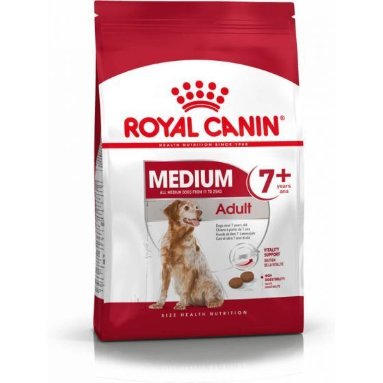 Royal Canin Medium Adult 7år+ 15 kg