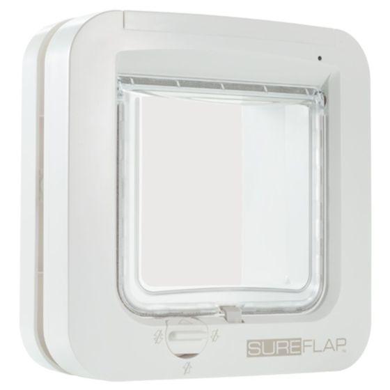 Sureflap Kattedør til Microchip, hvit